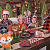 3D Buffalo Plaid Tree Centerpieces Image Thumbnail 3