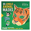 3D Jungle Animal Masks Image Thumbnail 1