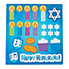 3D Menorah Sticker Scenes Image Thumbnail 3