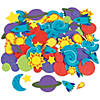 500 Fabulous Foam Self-Adhesive Space Shapes Image Thumbnail 1