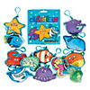 Aquatic Plush Sea Critters with Clip Blind Bags Image Thumbnail 1