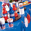 Blue Plastic Tablecloth Roll Image Thumbnail 3
