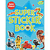 Boy Super Sticker Activity Book Image Thumbnail 1