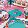 Bright Floral Beverage Napkins Image Thumbnail 2