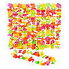 Bright Neon Plastic Leis - 12 Pc.