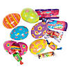 Bright Printed Candy-Filled Plastic Easter Eggs - 24 Pc.