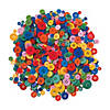 Bright Rainbow Craft Buttons Image Thumbnail 1