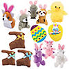 Bulk Easter Stuffed Animal Assortment - 72 Pc.