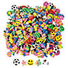 Bulk Mini Eraser Assortment - 500 Pc. Image Thumbnail 1