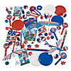 Bulk Patriotic Giveaway Assortment - 500 Pc. Image Thumbnail 1