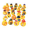 Bulk Rubber Ducky Assortment - 100 Pc.