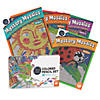 CBN Mystery Mosaics: Books 1 - 4 with 36 Colored Pencils Set Image Thumbnail 1