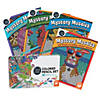 CBN Mystery Mosaics: Books 11 - 14 with 36 Colored Pencils Set Image Thumbnail 1