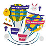 """Christ is Risen"" Hot Air Balloon Ornament Craft Kit Image Thumbnail 2"