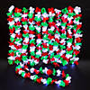 Christmas Light-Up Polyester Leis Image Thumbnail 2