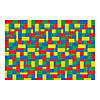Color Brick Party Backdrop Image Thumbnail 1