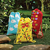 DIY Medium Colorful Canvas Drawstring Bags Image Thumbnail 5