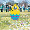 Easter Chick Face Yard Sign Image Thumbnail 2