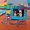 elementary-graduation-star-picture-frame-magnet-craft-kit