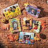 Funny Face Pumpkin Picture Frame Magnet Craft Kit Image Thumbnail 5