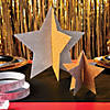 gold-and-silver-star-centerpieces