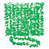 Green Flower Plastic Leis - 12 Pc. Image Thumbnail 1