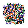 halloween-faceted-beads