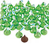 Hershey&#8217;s<sup>&#174;</sup> Kisses<sup>&#174;</sup> Light Green Chocolate Candy - 400 Pc. Image Thumbnail 1