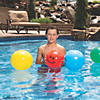 "Inflatable 11"" Smile Face Medium Beach Balls Image Thumbnail 3"