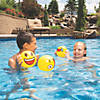 "Inflatable 5"" Emoji Mini Beach Balls Image Thumbnail 2"