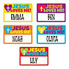 Jesus Loves Me Name Tags Image Thumbnail 3