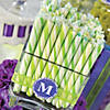 Lime Green Hard Candy Sticks Image Thumbnail 2
