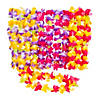 Mahalo Floral Polyester Leis - 12 Pc. Image Thumbnail 1