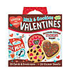 Milk & Cookies Scratch And Sniff Super Fun Valentines Pack