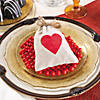 Mini Heart Canvas Drawstring Treat Bags Image Thumbnail 2