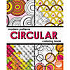 Modern Patterns Circular Coloring Book Image Thumbnail 1