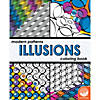 Modern Patterns Illusions Coloring Book Image Thumbnail 1