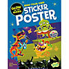 Monster Rock Show Poster Sticker Activity Book Image Thumbnail 1