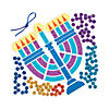 mosaic-menorah-craft-kit