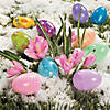 Pastel Patterned Toy-Filled Plastic Easter Eggs - 24 Pc. Image Thumbnail 3