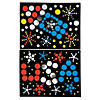 Patriotic Dot Sticker Art Sheets Image Thumbnail 1