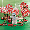 Peppermint Swirl Hanging Decorations - 3 Pc. Image Thumbnail 3