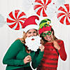 Peppermint Swirl Hanging Decorations - 3 Pc. Image Thumbnail 5