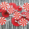 Peppermint Swirl Hanging Decorations - 3 Pc. Image Thumbnail 4
