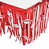 Red Congrats Grad Table Skirt