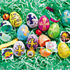 Religious Bright Toy-Filled Plastic Easter Eggs - 24 Pc. Image Thumbnail 2