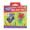 Scratch & Sniff Pencil Topper Super Fun Valentine Pack