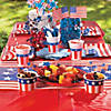 "Small Paper American Flags on Sticks - 4 1/2"" x 3""  Image Thumbnail 3"