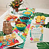 Tropical Plastic Serving Tray Image Thumbnail 3