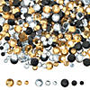 small-black-gold-and-silver-faceted-gems